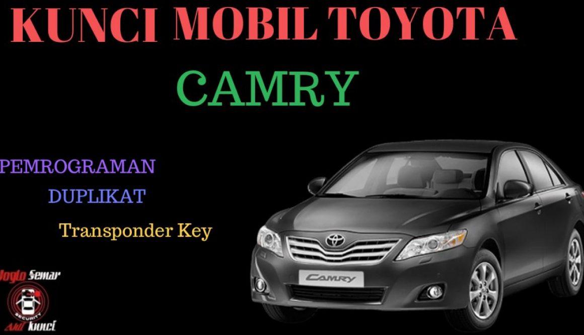 Kunci Mobil Toyota Camry
