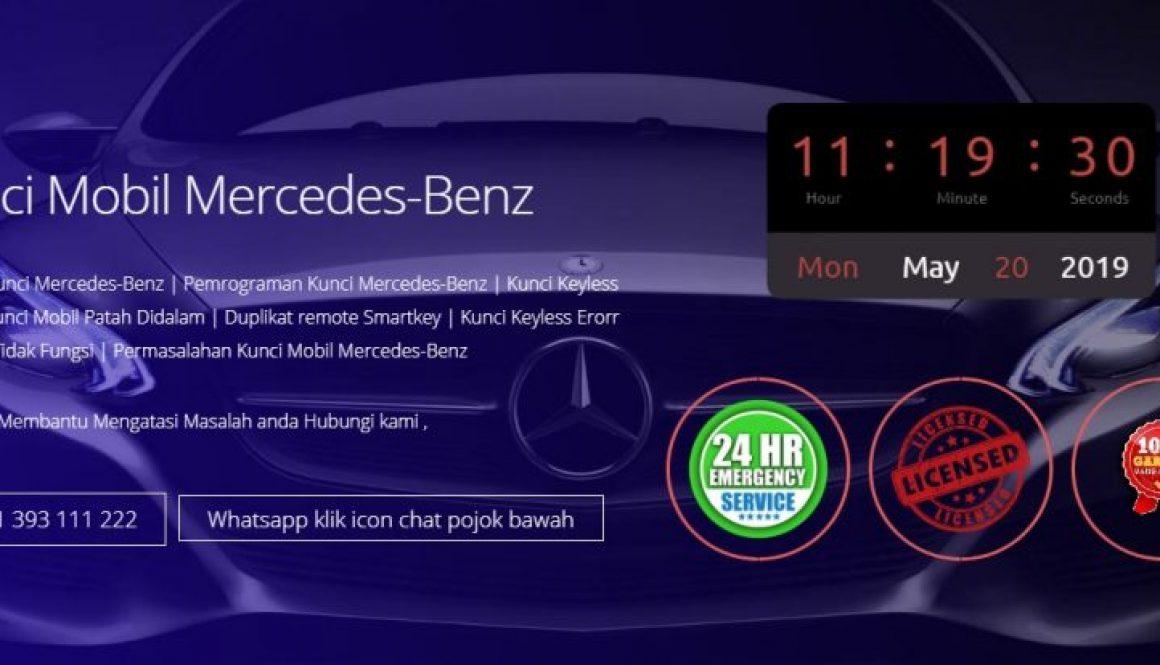 Ahli Kunci Mercedes-Benz