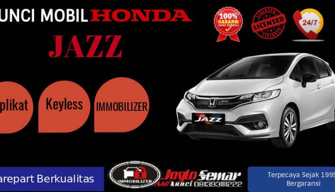 Kunci Mobil Honda Jazz